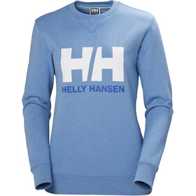 Helly Hansen HH Logo Crew Sweat Damen cornflower melange